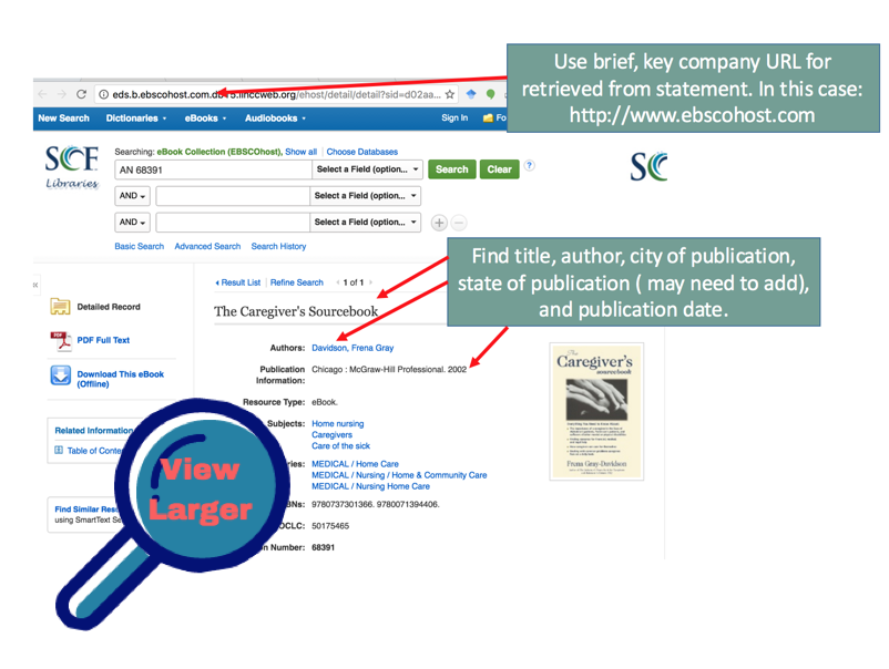 image of eBook record from ebsco
