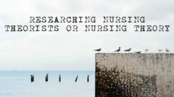 Find Library Resources for nursing theory research.