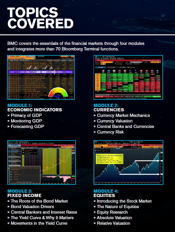 BMC Certificate - Bloomberg Guide - UF Business Library at ...