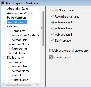 how to use new endnote style