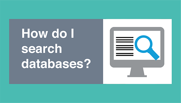 How do I search databases?