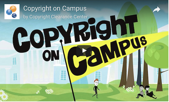 Copyright on Campus video by Copyright Clearance Center