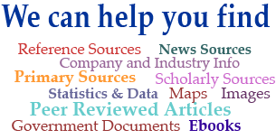 What we can help you find