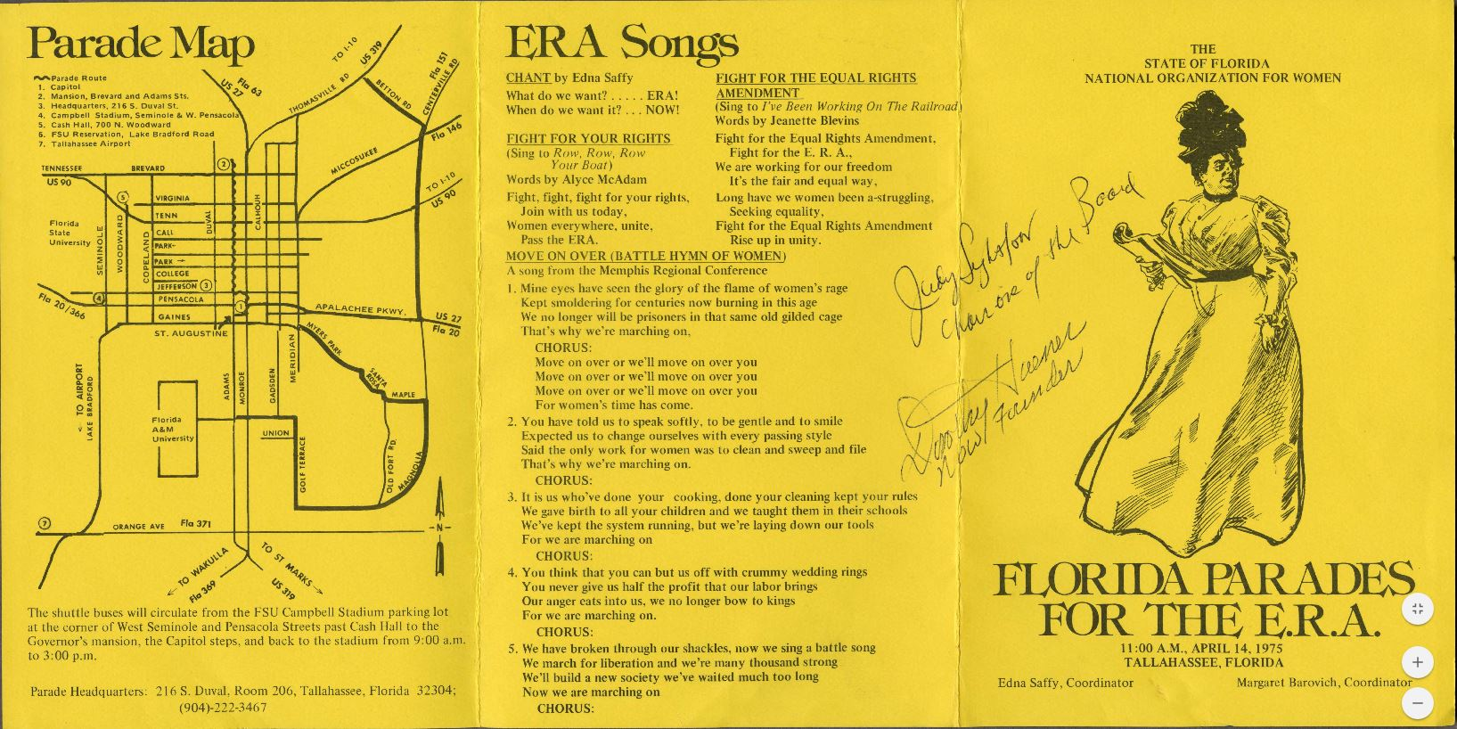 Florida Parades for the ERA program image