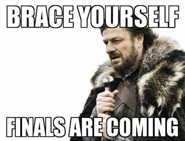 Finals are Coming image