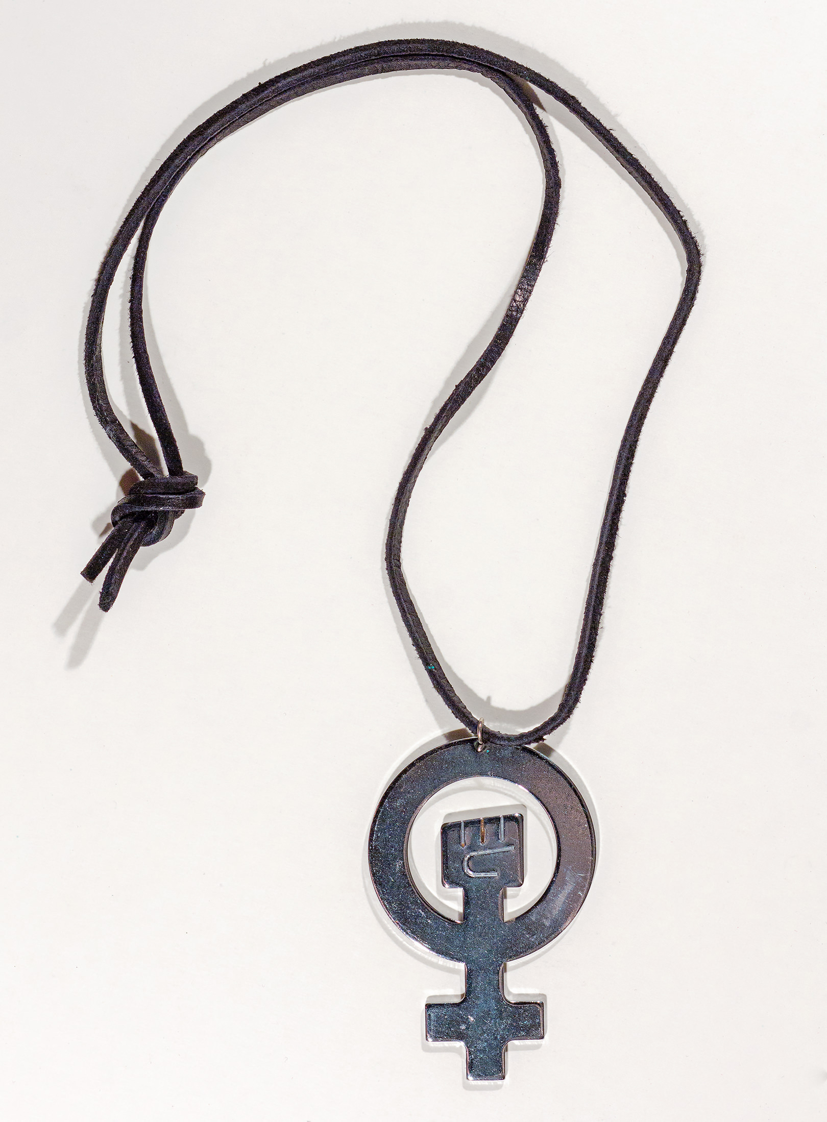 Women's activism necklace
