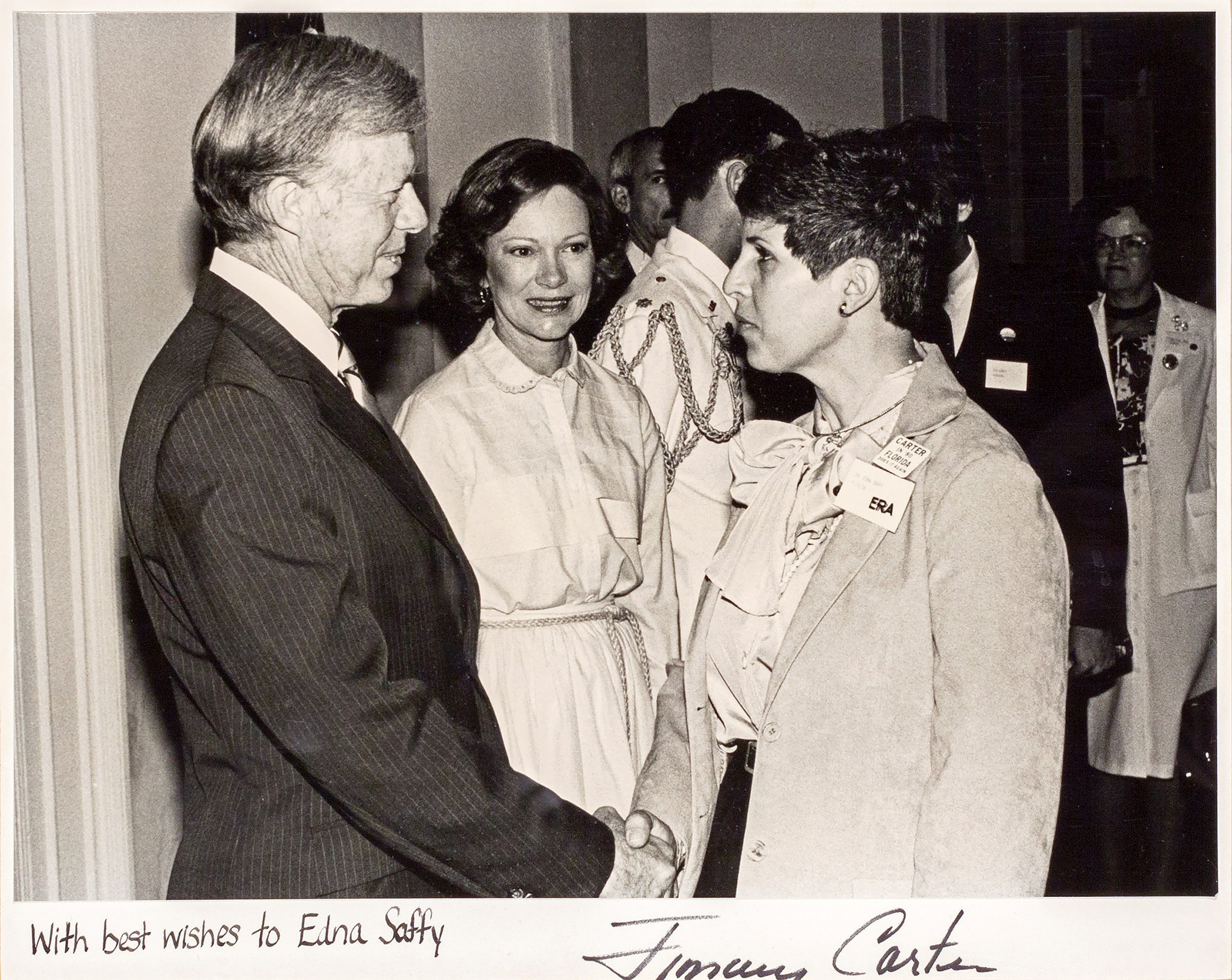Dr. Saffy and President Carter