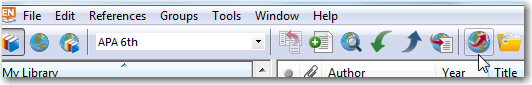 EndNote Open Link tool