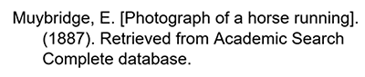 APA citation for an untitled image from a library database