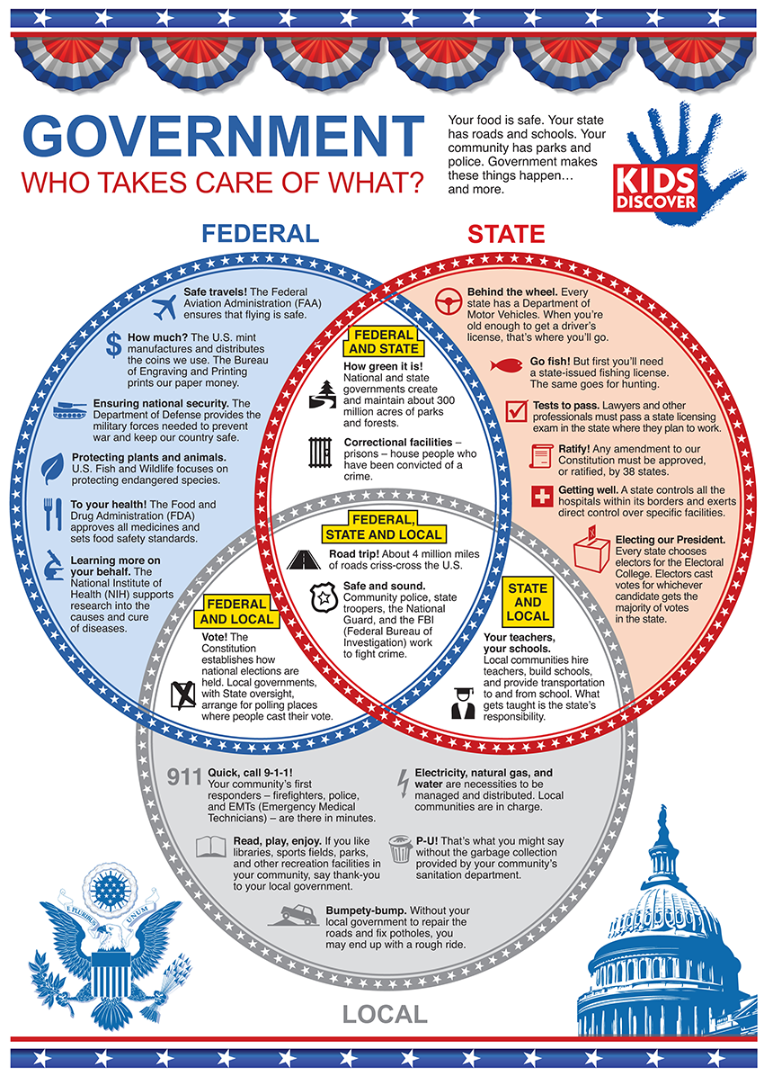 Goverment: Who Takes Care of What?