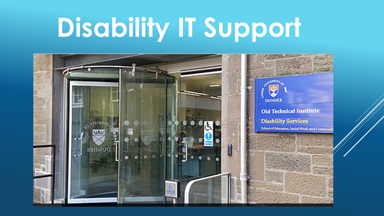 Disability IT Support
