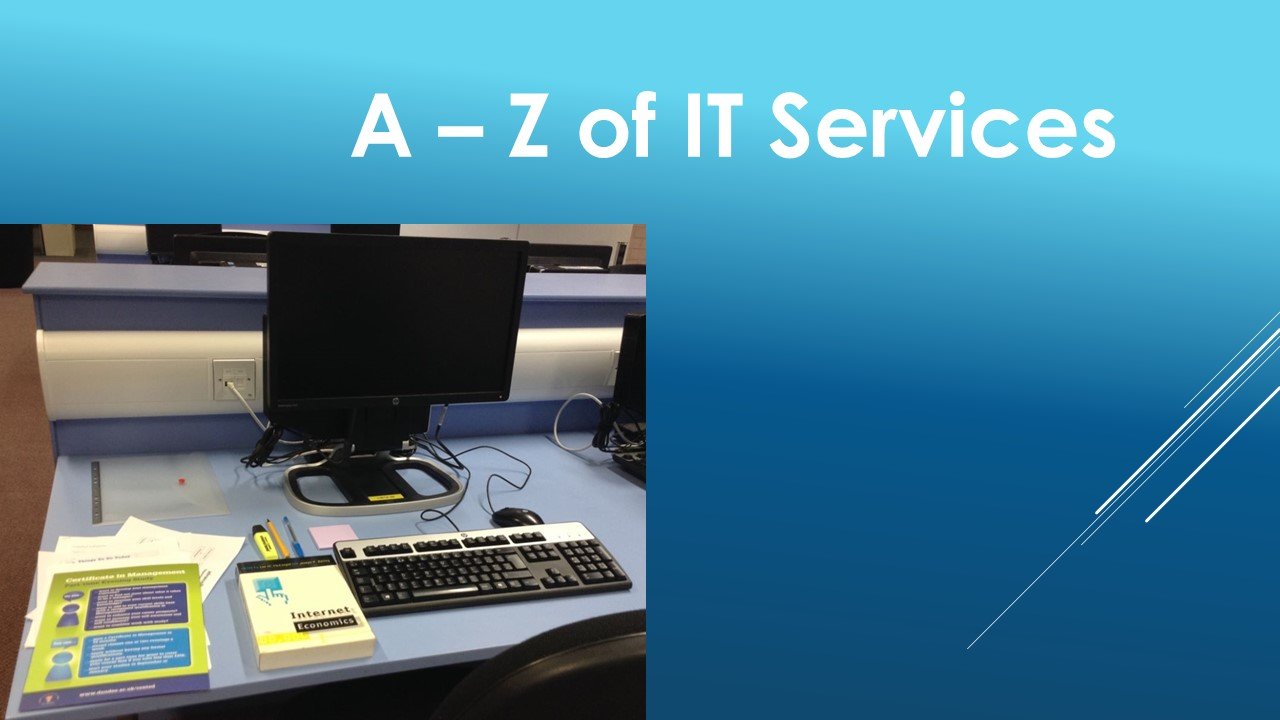 A-Z of IT Services