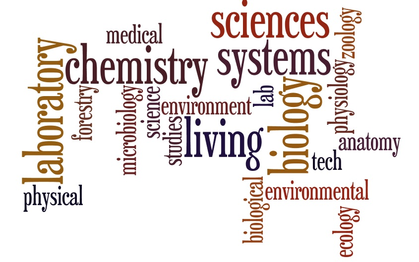 Word Cloud of Terms for Science