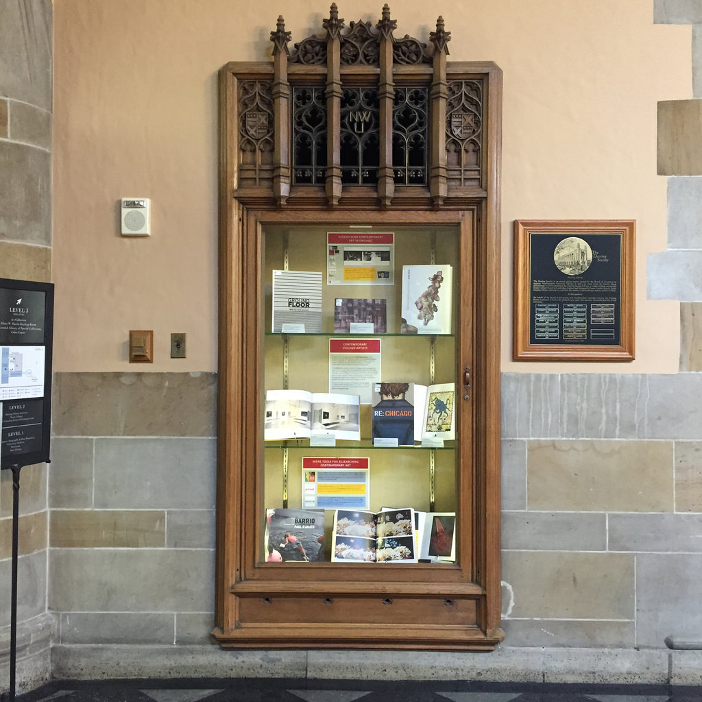 art library display case