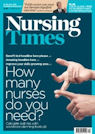 Front cover of Nursing Times