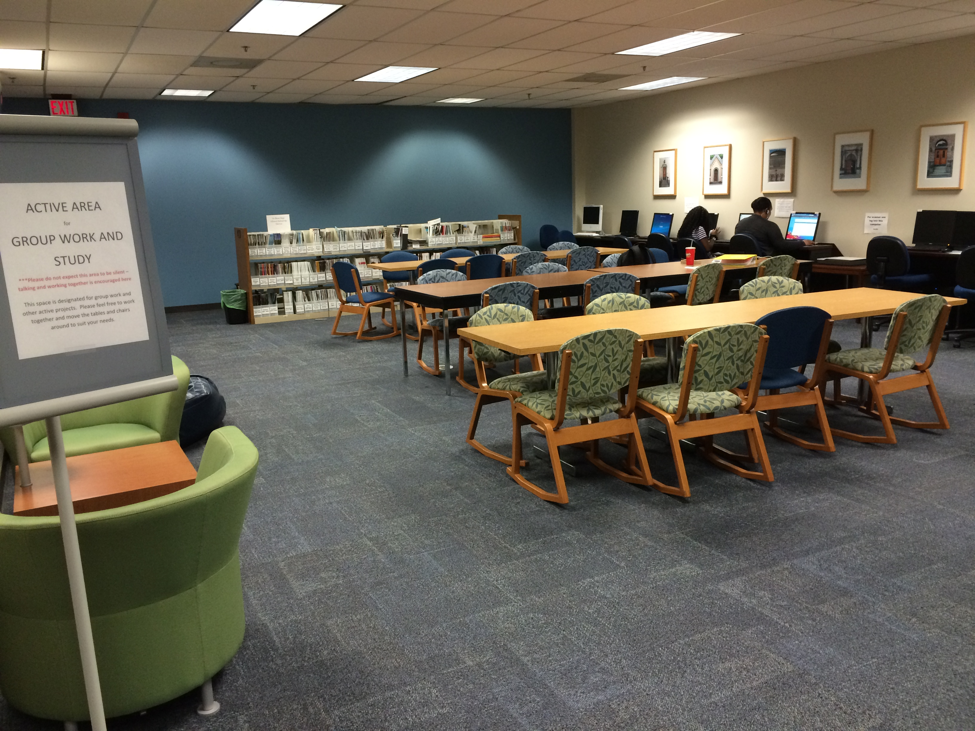 Tulsa Library Reserve A Room
