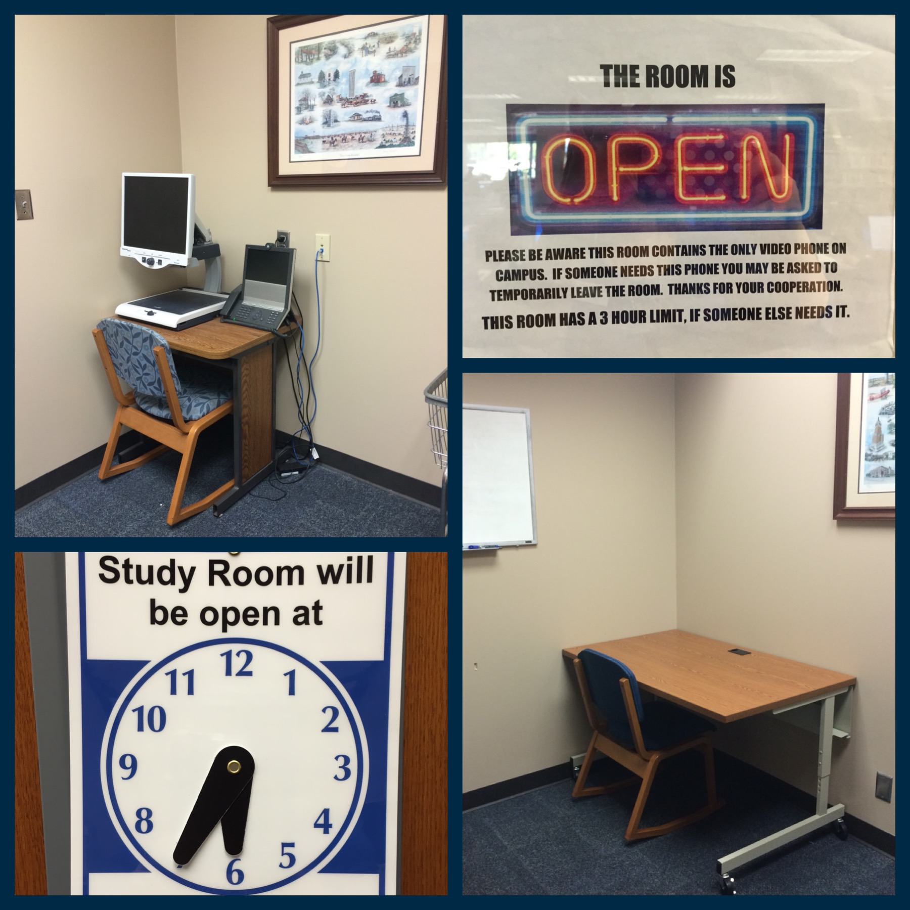 Photo of study room 3