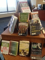 Photo of new book display