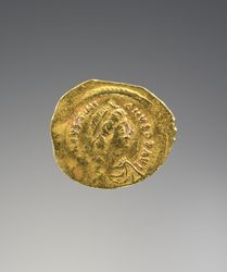 Tremissis of Justinian I: Gold Coin