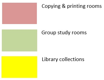 First Floor Map - Maps - LibGuides at Bloomsburg University of ...