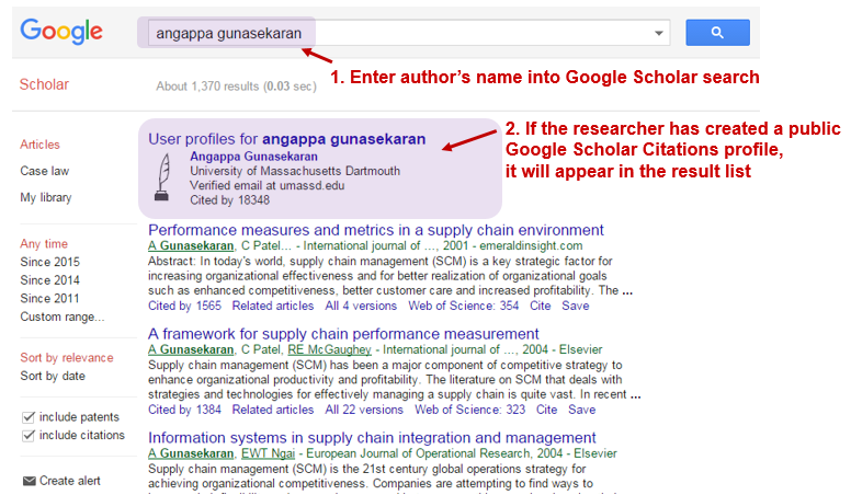 Tutorial h index in google scholar evaluating scholarly use the author profile search of google scholar or sign in to your own google scholar citations account stopboris Choice Image