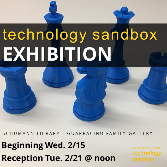 Technology Sandbox Exhibition