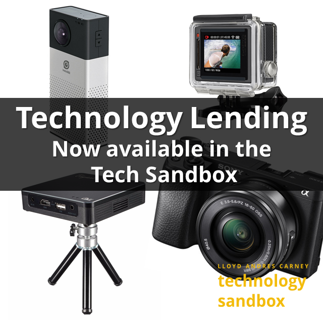 Technology Lending Now available in the tech sandbox