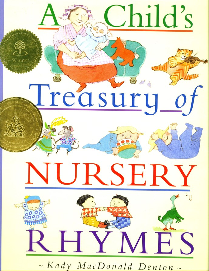 A Childs Treasury of Nursery Rhymes book cover