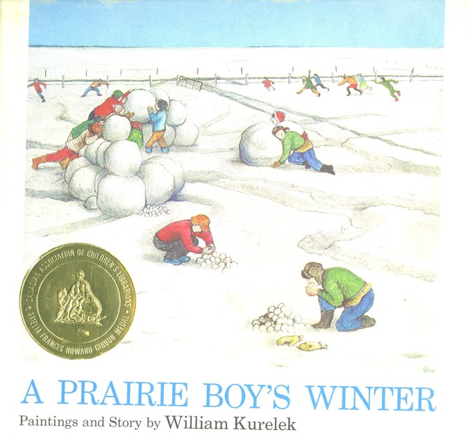 A Prairie Boy's Winter book cover