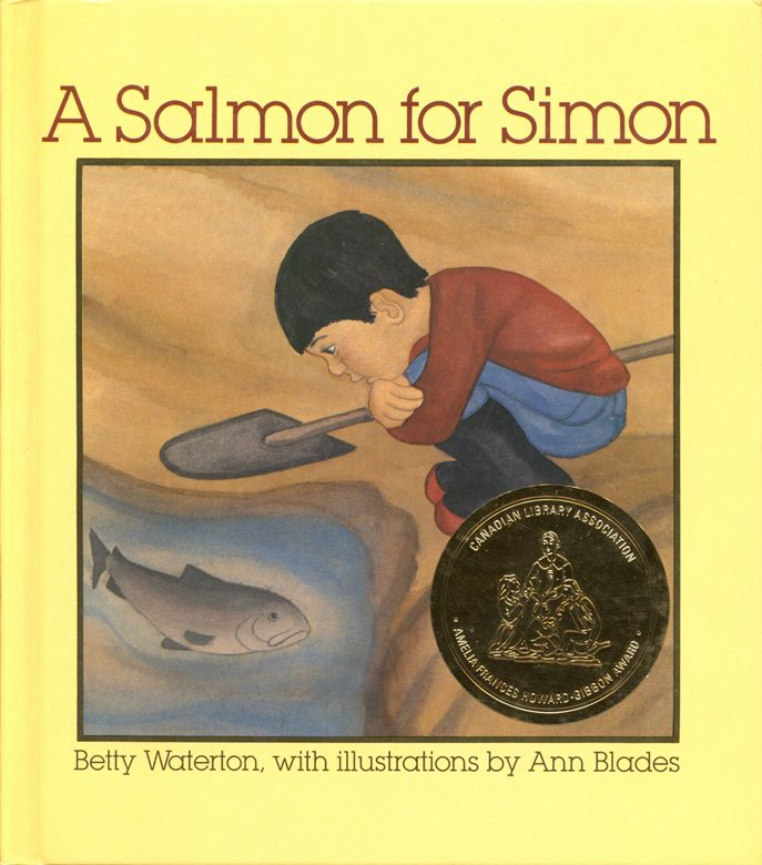 A Salmon for Simon book cover