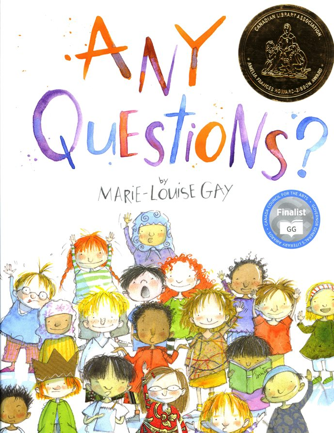 Any Questions book cover