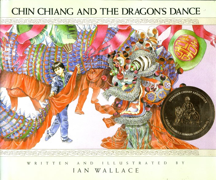 Chin Chiang and the Dragons Dance book cover