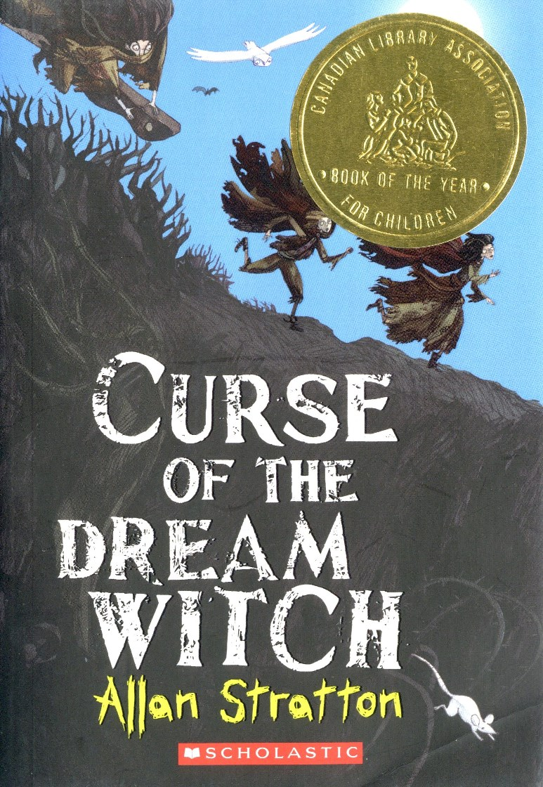 Allan Stratton Curse of the Dream Witch book cover