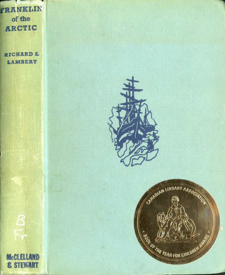 Richard S Lambert Franklin of the Arctic book cover