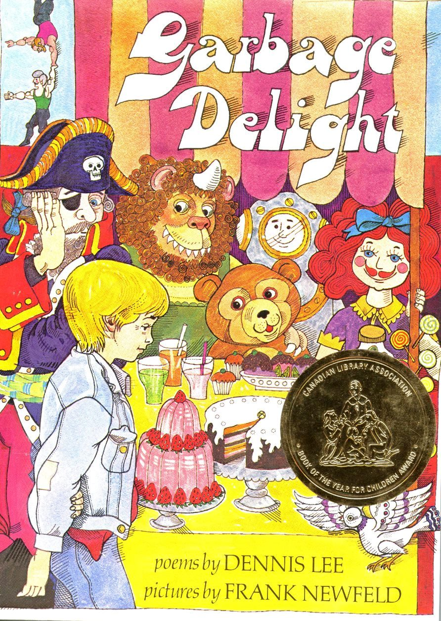 Dennis Lee Garbage Delight book cover