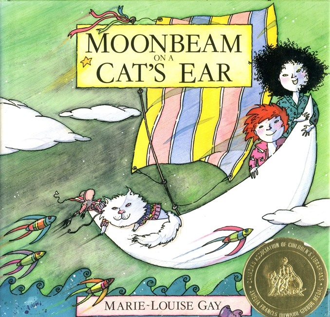 Moonbeam on a Cats Ear book cover