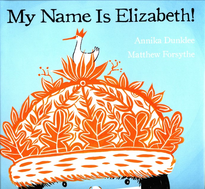 My Name Is Elizabeth book cover