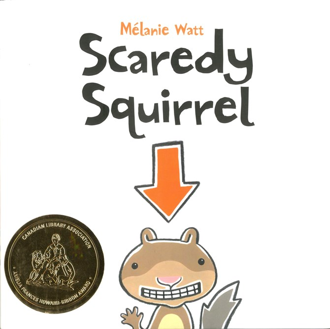 Scaredy Squirrel book cover