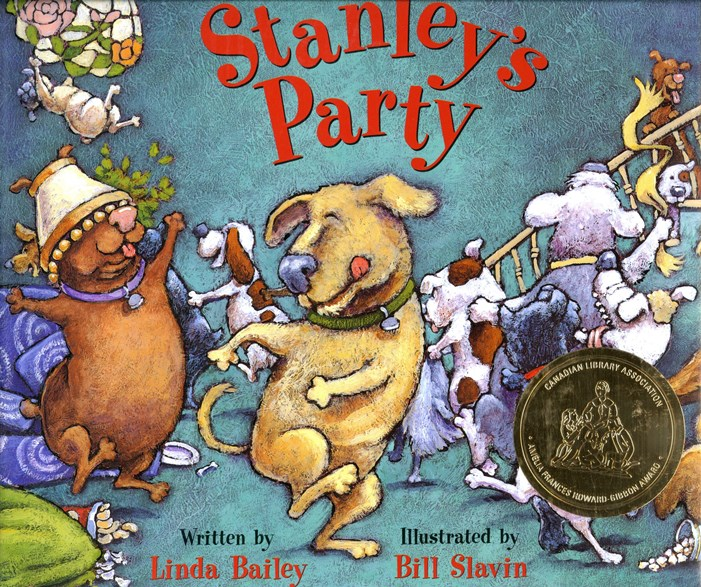 Stanleys Party book cover