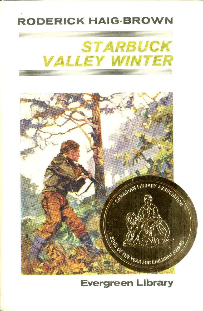 Roderick L. Haig-Brown Starbuck Valley Winter book cover