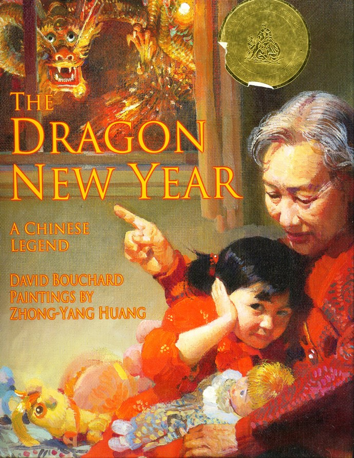 The Dragon New Year book cover