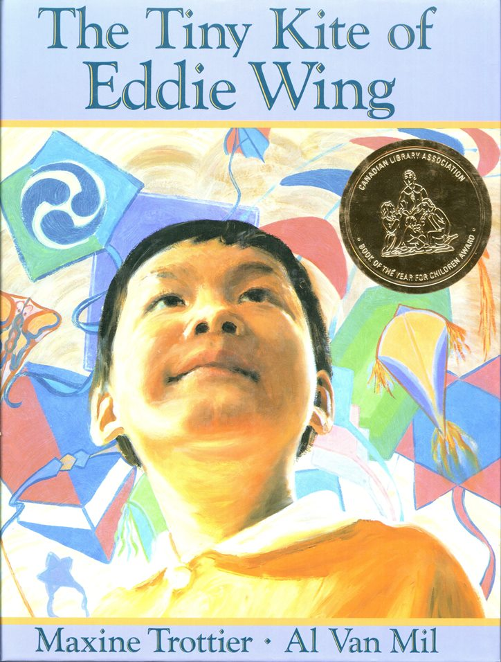 Maxine Trottier The Tine Kite of Eddie Wing book cover