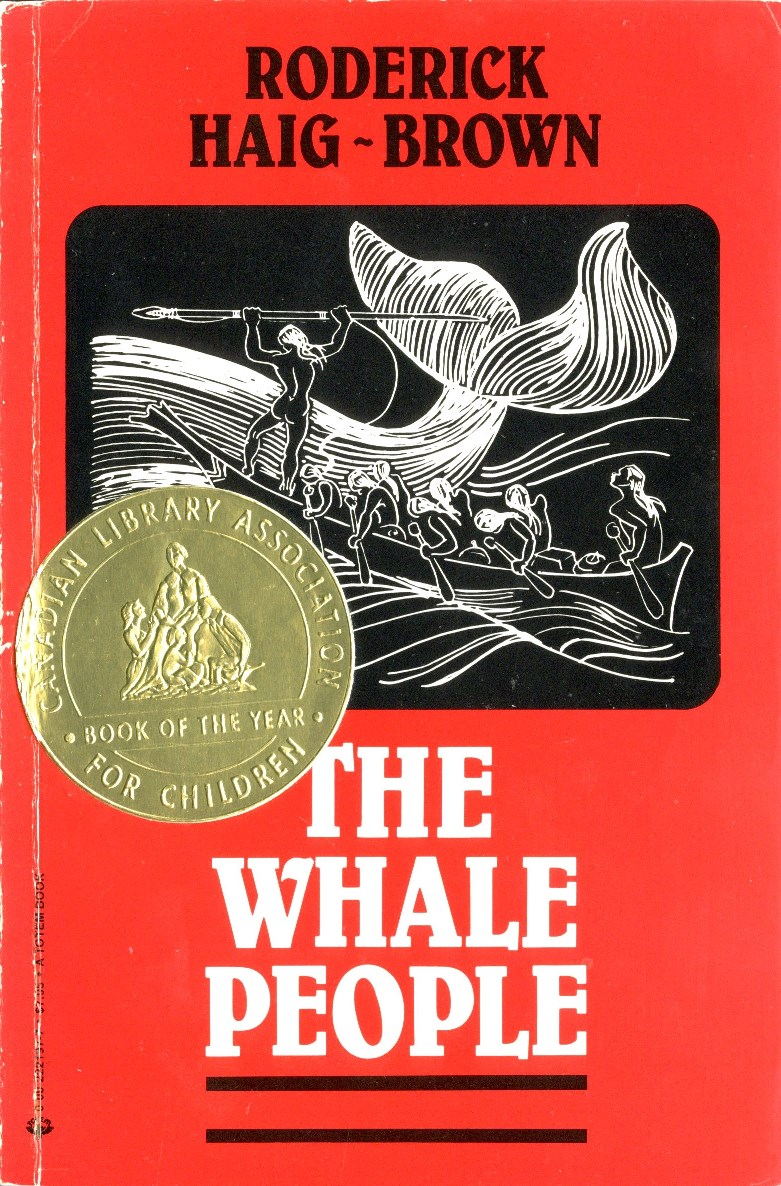 Roderick L Haig-Brown The Whale People book cover
