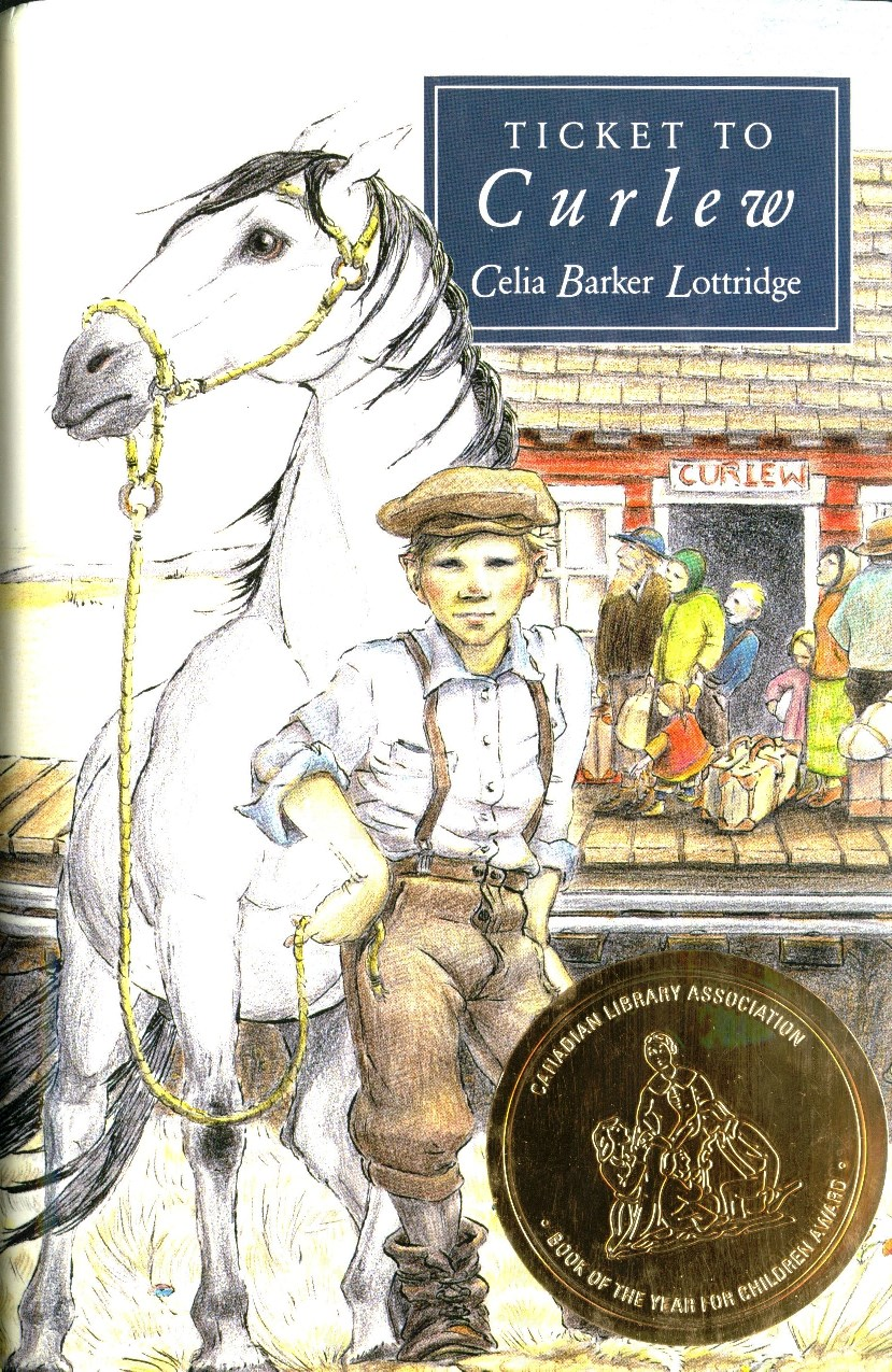 Celia Barker Lottridge Ticket to Curlew book cover