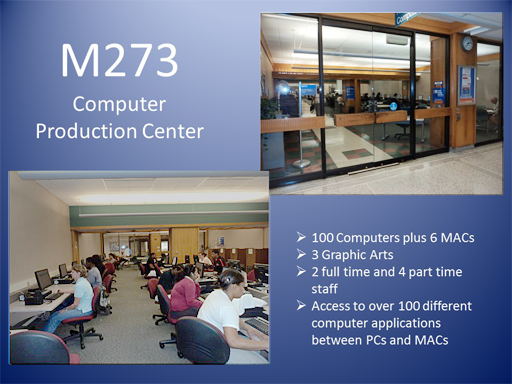 M273 Computer Production Ctr.