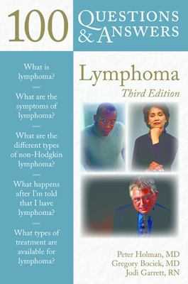 Book cover 100 Questions and Answers about Lymphoma