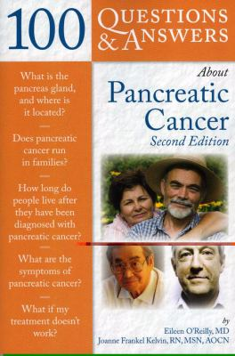 Book Cover for 100 Questions and Answers for Pancreatic Cancer