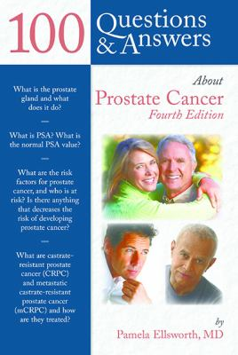 Book cover to 100 Questions and Answers about Prostate Cancer