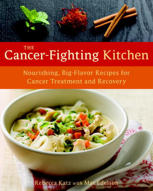 book cover for The Cancer Fighting Kitchen