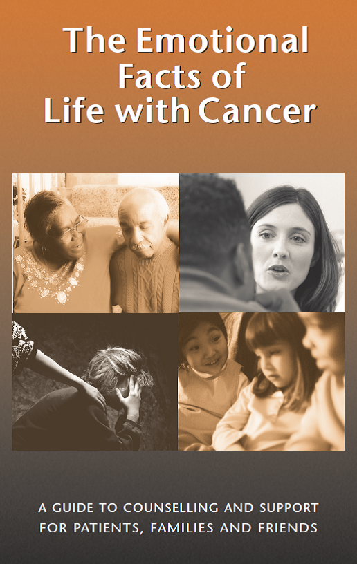 Book cover: the emotional facts of life with cancer
